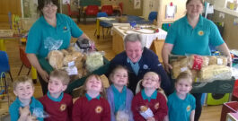Leven Pre-School Make Use Of Surplus Food From Local Tesco Store