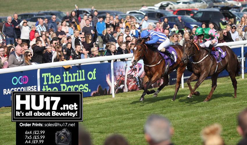 BEVERLEY RACES : Kylie's So Lucky At Beverley