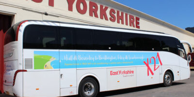 Local Bus Company East Yorkshire Have Revamp Seaside Services
