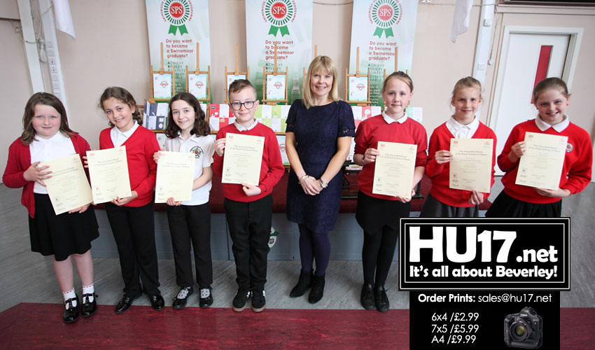 Swinemoor Primary Schools Magnificent Seven Hit All The Right Notes