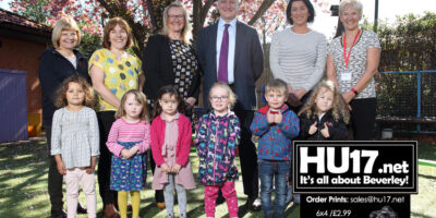 MP Heads Back To Nursery School For Lesson In Success