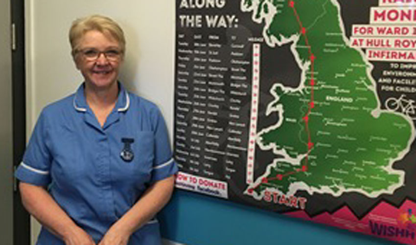 Nurse Cycles From Land's End To John O'groats To Help Sick Children
