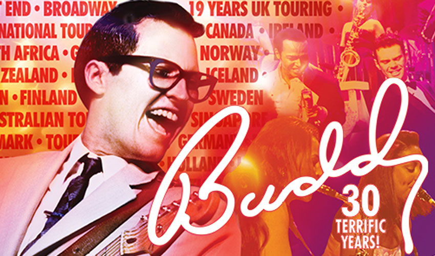 Buddy - The Buddy Holly Story - 30th Anniversary Tour Cast Announced