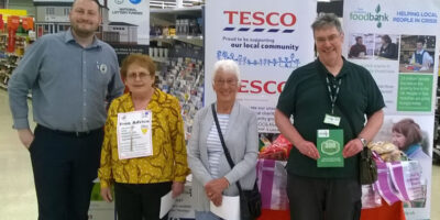 Tesco Beverley Join Other Stores To Celebrate Surplus Food Incentive