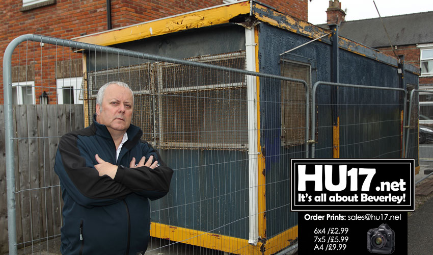 Portable Building On Holme Church Lane Sparks Concerns From Resident