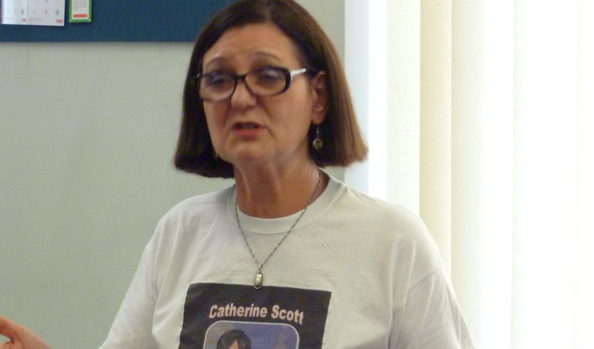 Performance Poet Catherine Scott Coming To Beverley Library