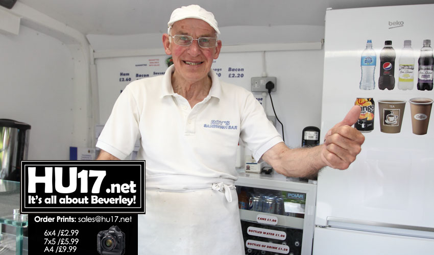 Welcome Return To Beverley For Roy And His Sandwich Van