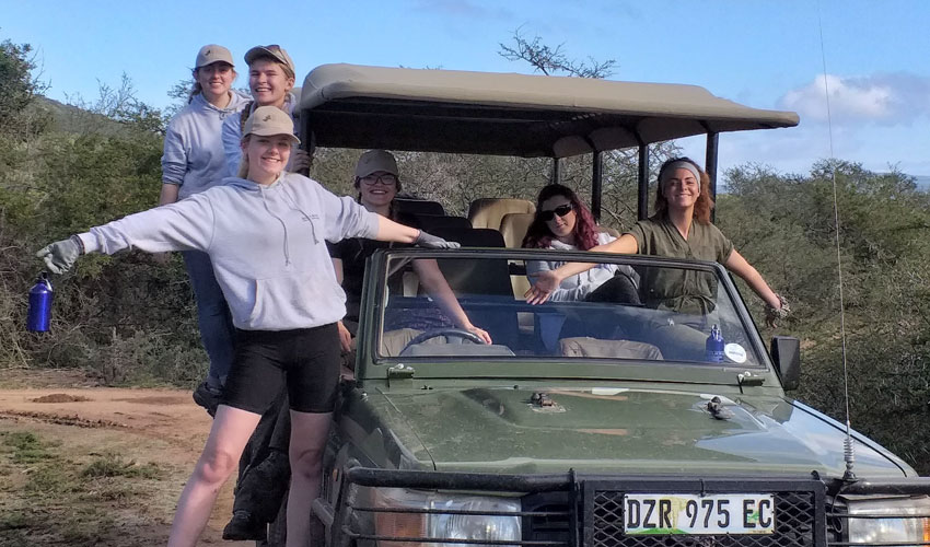 Students' Speak Of Their 'Life Changing' South Africa Trip