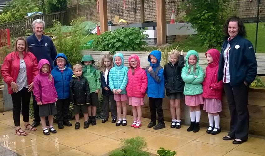 Bags Of Help Scheme Grant Funds Garden At Local School