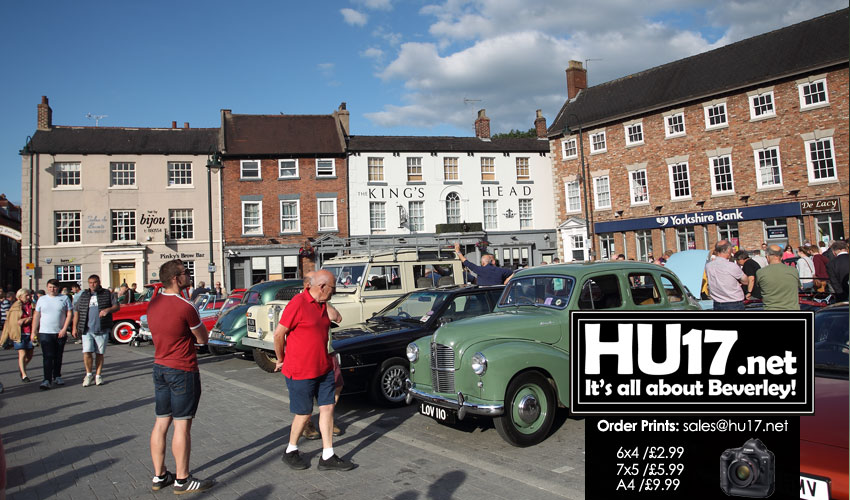 Classic Cars Set To Take Over Beverley's Historic Core