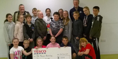 Beverley Church Lads and Church Girls Brigade Awarded Cash