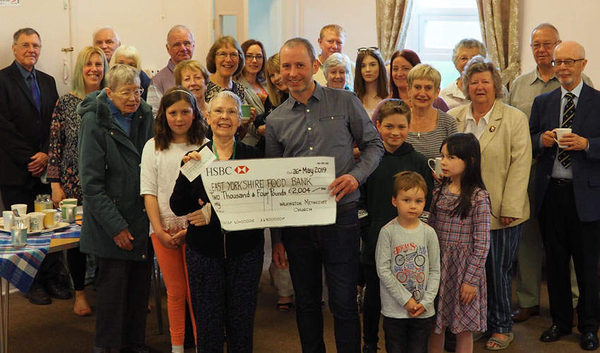 Remembrance Donation For Much-Loved Foodie Professional