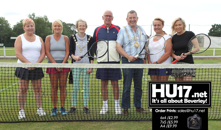 Beverley Town Tennis Club Celebrate Their 100th Anniversary