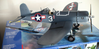 Revell Vought F4U-1A Corsair Model Kit 1:32 Build Review