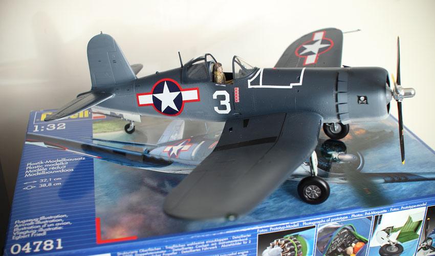 Revell Vought F4U-1A Corsair Model Kit 1:32 Build Review