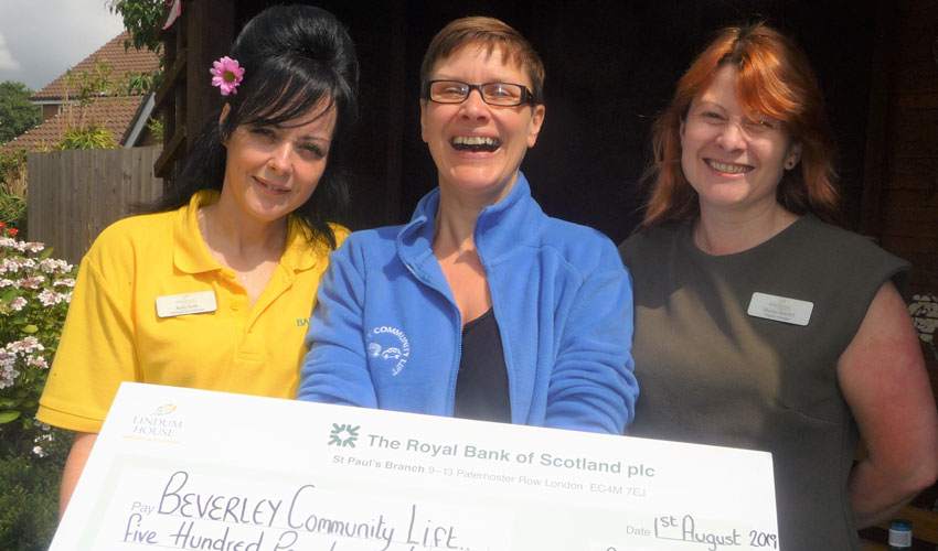 Beverley Community Lift Donation Is A Yorkshire Day Treat