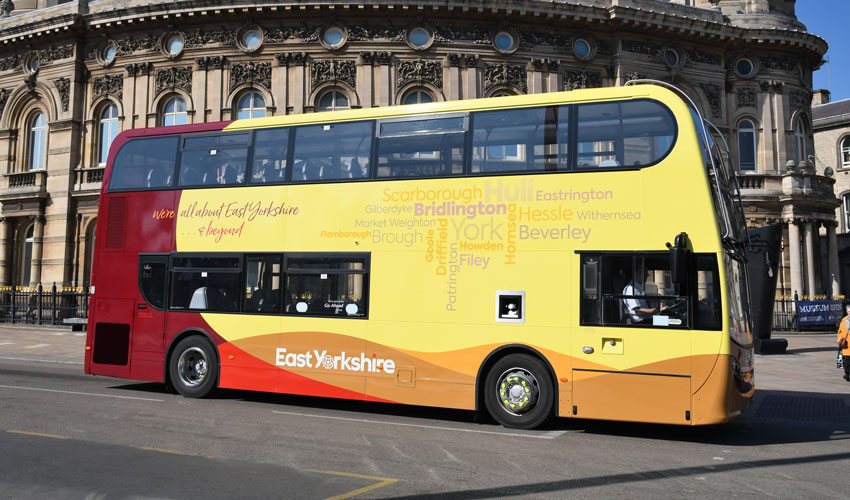 New Fares For East Yorkshire Buses, Including Fantastic New Child Tickets