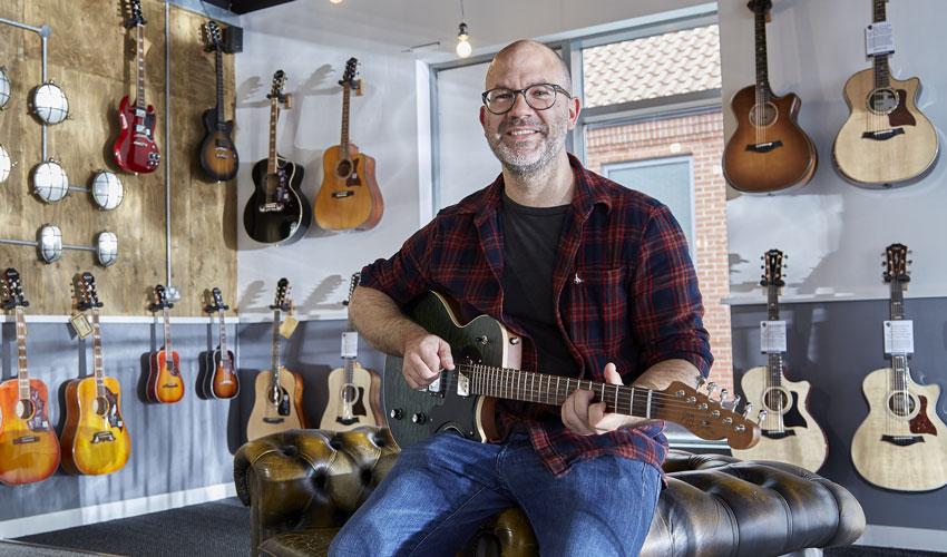 Specialist Retailer Brings Guitars Galore To Flemingate Retail Park