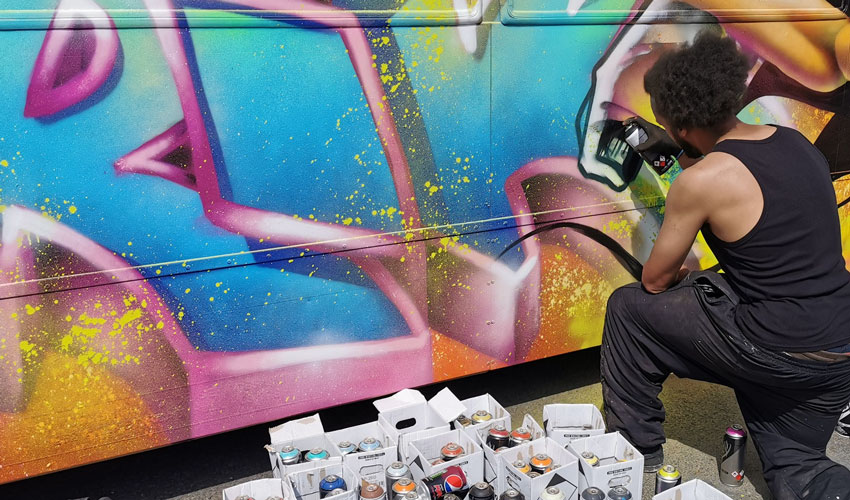 Humber Street Sesh Turns East Yorkshire Buses Into Art
