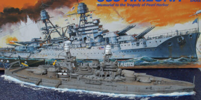 Revell USS Arizona 1/426 Build Review and Photos
