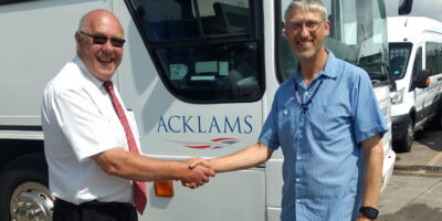 Beverley Based Charity Send Coach Donated By Acklams To Africa