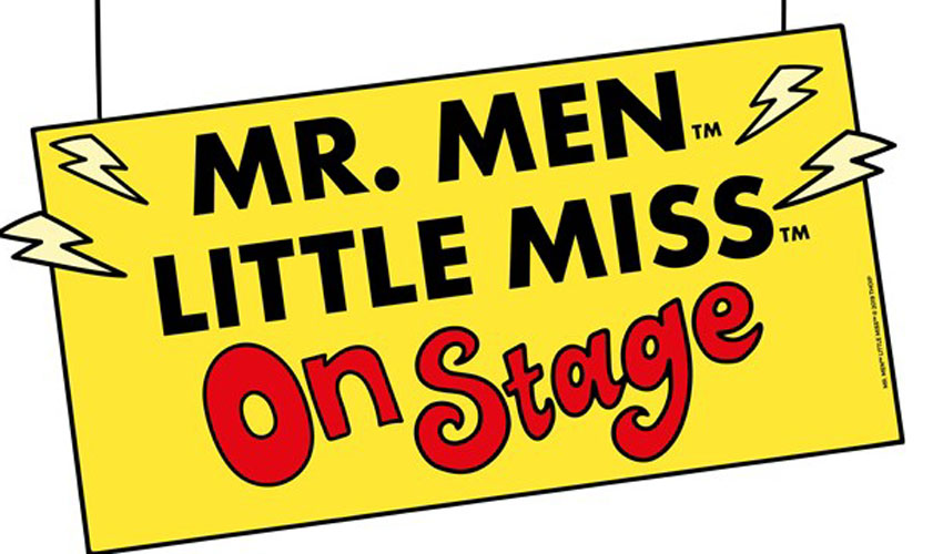 Mr. Men And Little Miss On Stage For The First Time