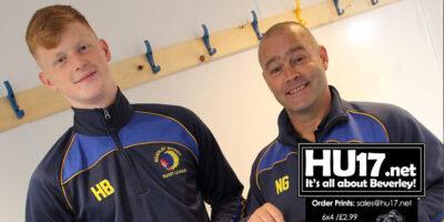 Harvey Barron Donates His England Shirt To Beverley Braves