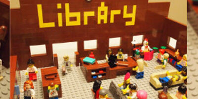 Build Your Library Of The Future Out Of Lego