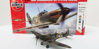 Airfix 1/72 Spitfire Model Plane Build Review and Photos
