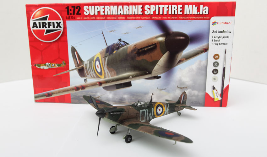 Airfix 1/72 Spitfire Model Plane Build Review and Photos