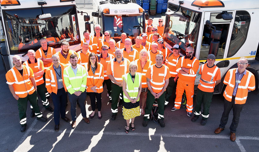 East Riding Waste And Recycling Team Wins Second National Award