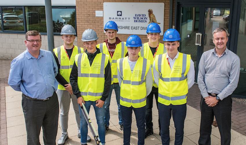 Barratt Developments Supports The Country's First-Ever Residential Apprenticeship Programme