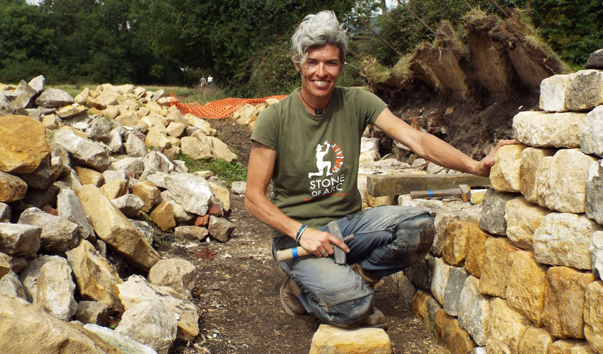 Dry Stone Wall Makes For New Feature On Beverley's Iconic Westwood