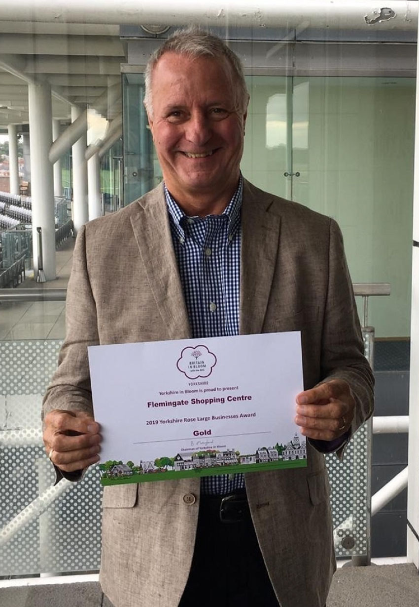 Retail Park Wins Gold At Yorkshire In Bloom Awards