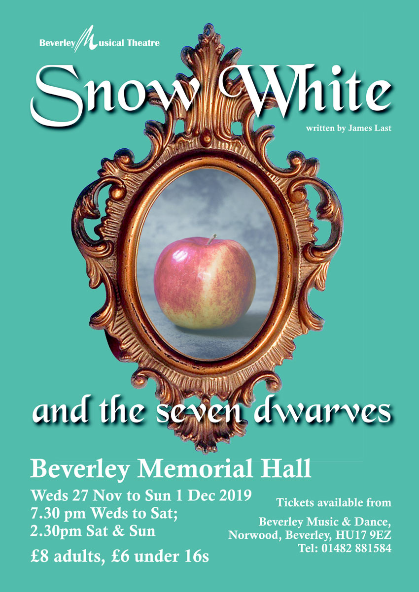 Snow White and the Seven Dwarfs Will Be The BMT Festive Pantomime