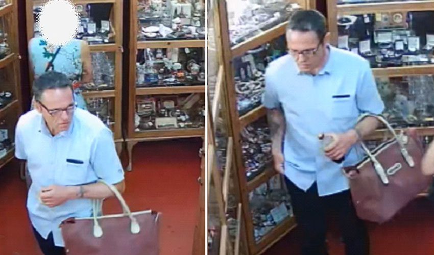 Theft Of Expensive Jewellery From Beverley Antique Shop