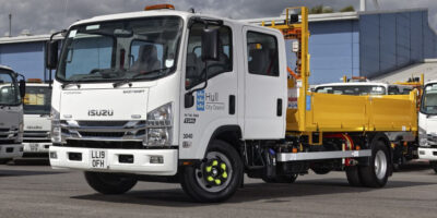 Isuzu Is The Truck Of Choice For Hull's Kingstown Works Ltd