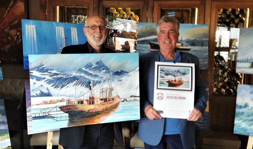 Viola Campaign To Benefit From Calendar Of Famous Ships
