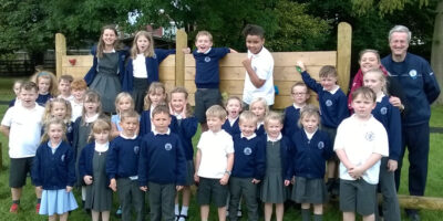 Cherry Burton Primary School Visited By Tesco To See Completed Project