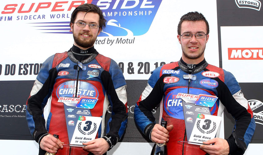 Christie Brothers End Season With Podium Finish