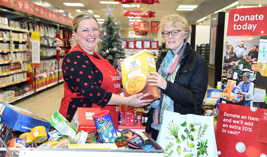 FareShare Seek Volunteers In Hull For Christmas Food Collection
