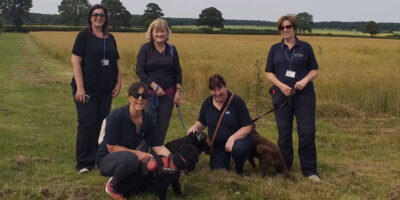 Charities Join Forces For A Waggy Walk For Wellbeing