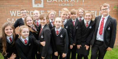 Barratt Homes Yorkshire Team Up With Cottingham High School