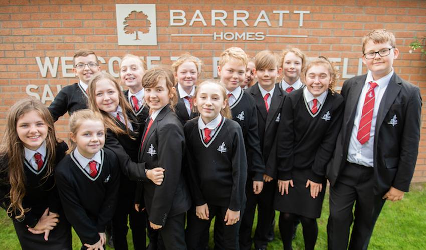 Barratt Homes Yorkshire Team Up With Cottingham High School