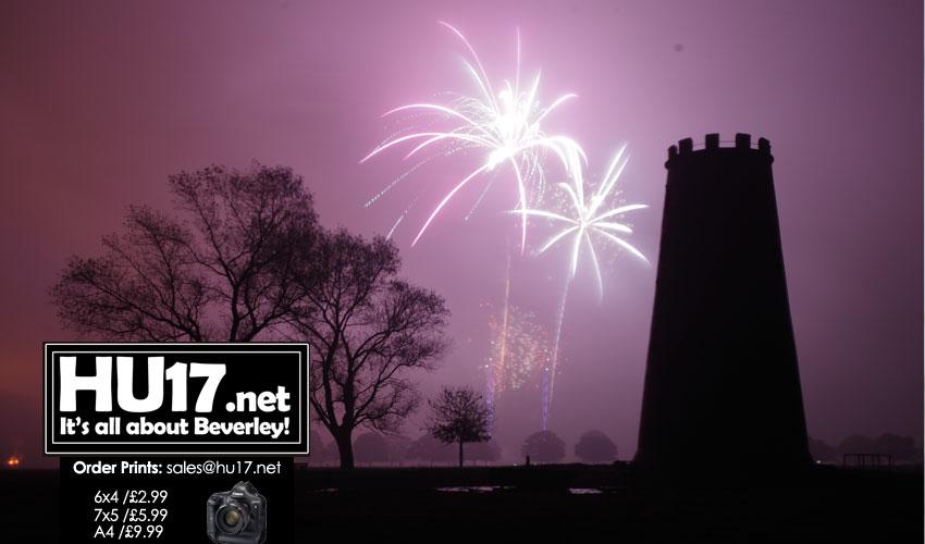 Beverley Westwood Lions Bonfire & Fireworks 2019 Timings