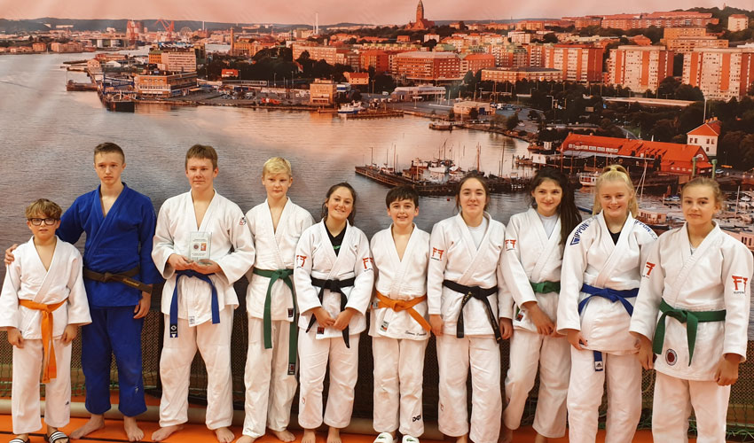 East Yorkshire Judo Academy's Younger Players Gain International Experience