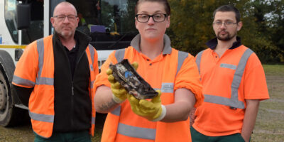 Bin Lorry Fire Sparks Appeal To Residents Not To Put Batteries In Bins