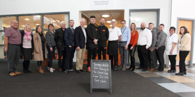 Orchard Community Cafe Celebrates Opening With Local Boxer Sonny Taylor