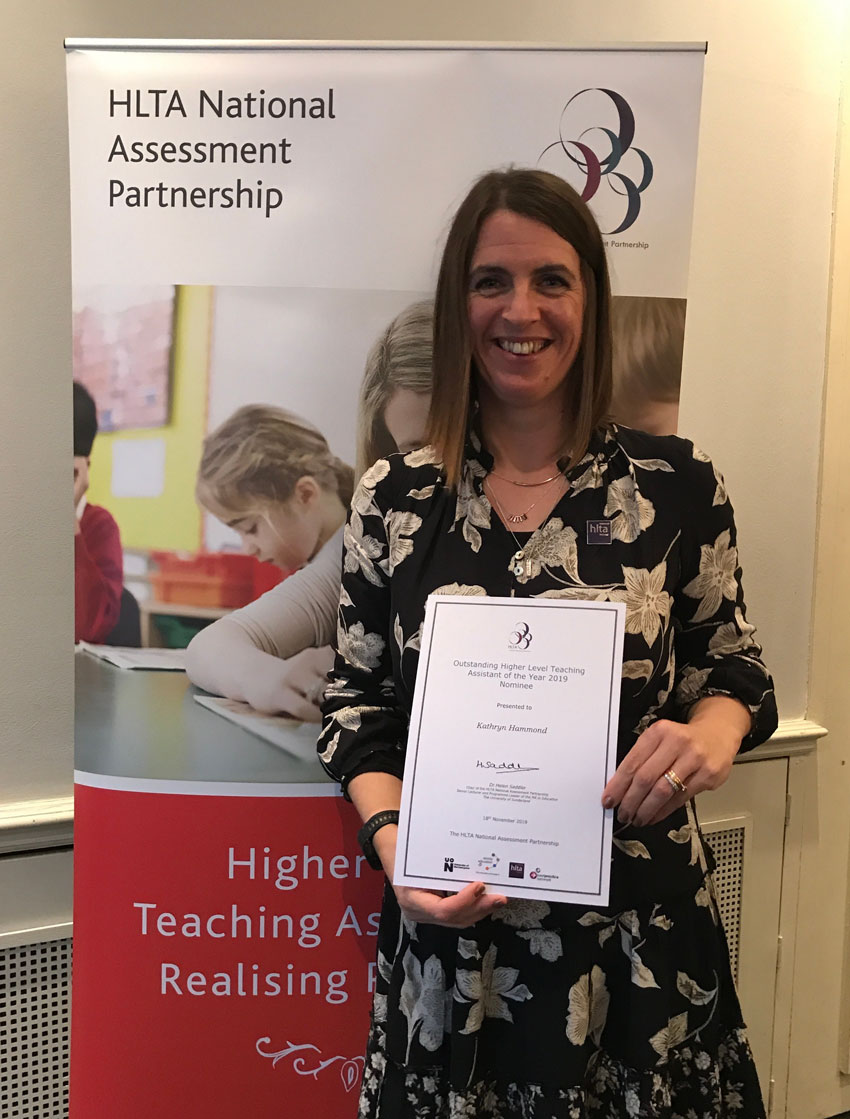 Award For 'Exceptional' Staff Member At East Riding Primary School