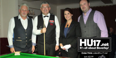 John Parrot And Michaela Tabb Entertain Beverley C Club Members